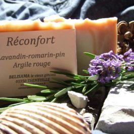 Réconfort : Lavandin - Romarin - Pin sylvestre - Argile rouge