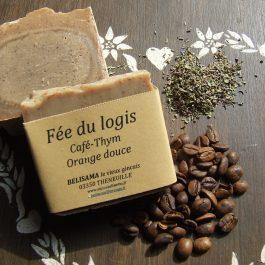 Fée du logis : Thym - Orange douce - Café