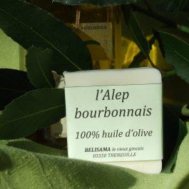 Alep bourbonnais : 100% huile d'olive