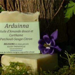 Arduinna : Patchouli - Sauge - Citron et argile verte
