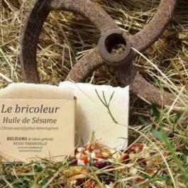 Le bricoleur : Citron - eucalyptus - Semoule de maïs