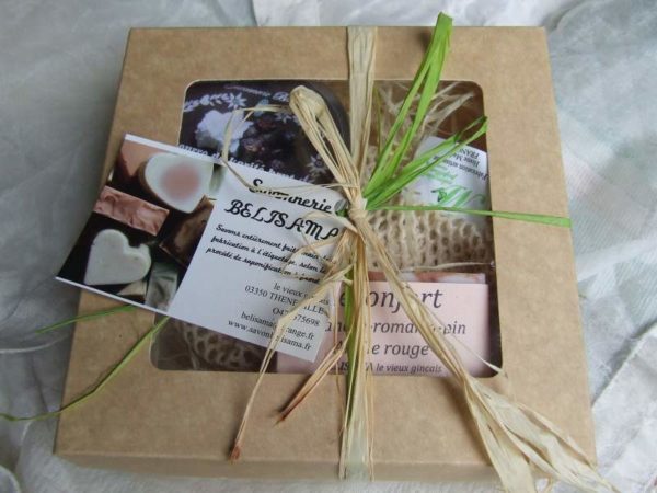 Savonnerie Belisama - Coffret cadeau savons- Bourbonnais